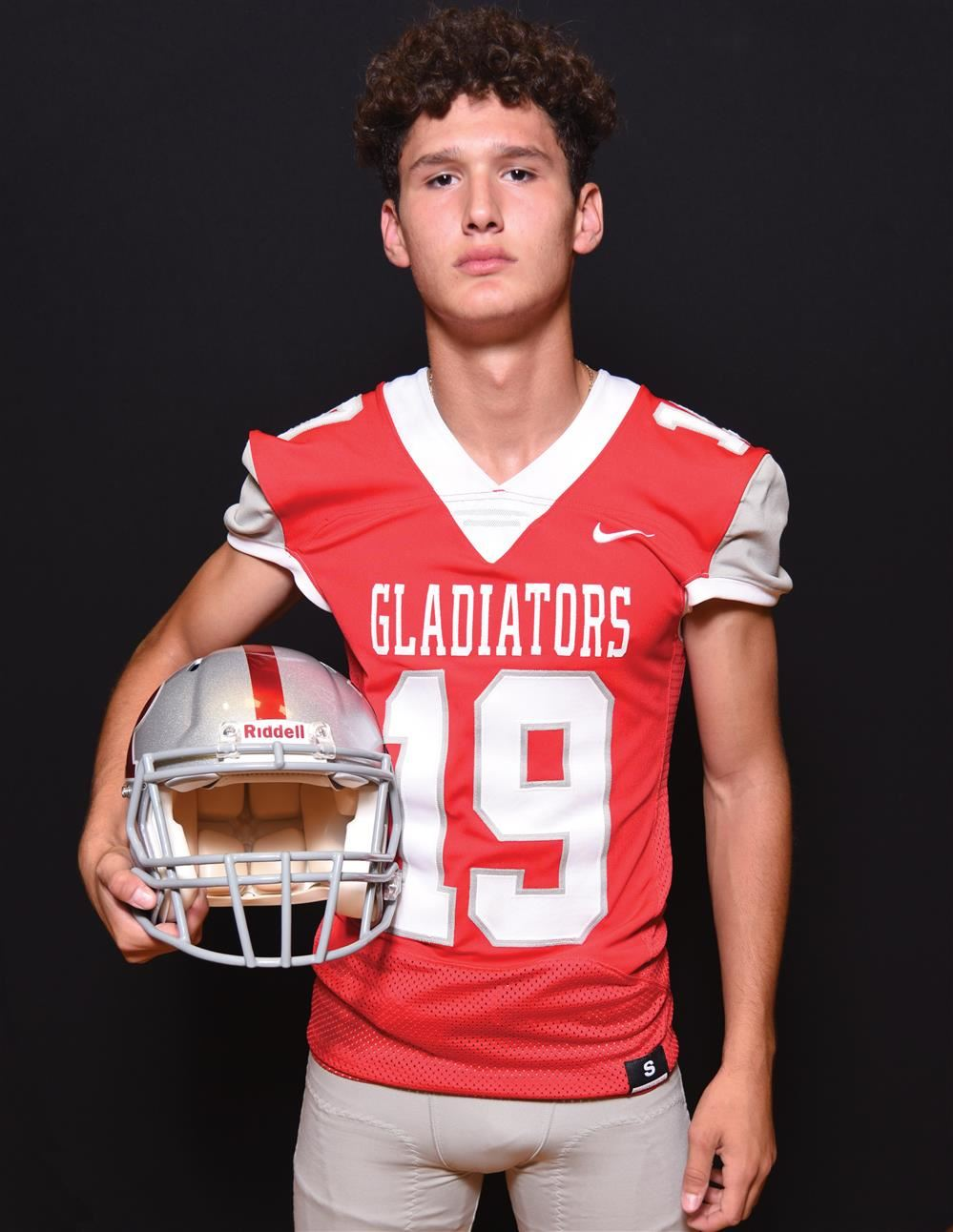 Roma High Student Selected as All-State High School Football Player