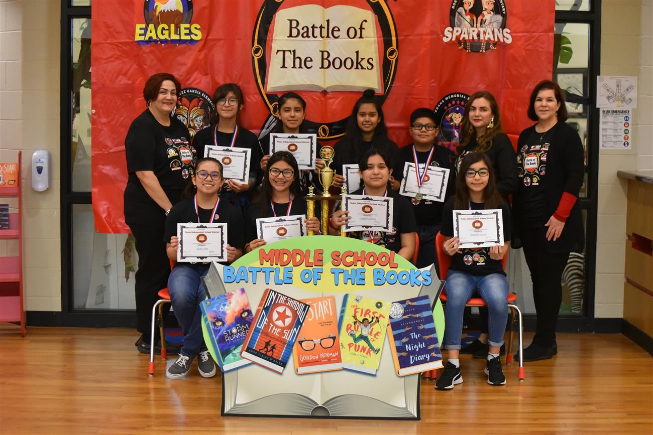 Roma ISD Schools Move On To Regional Battle of the Books Competition