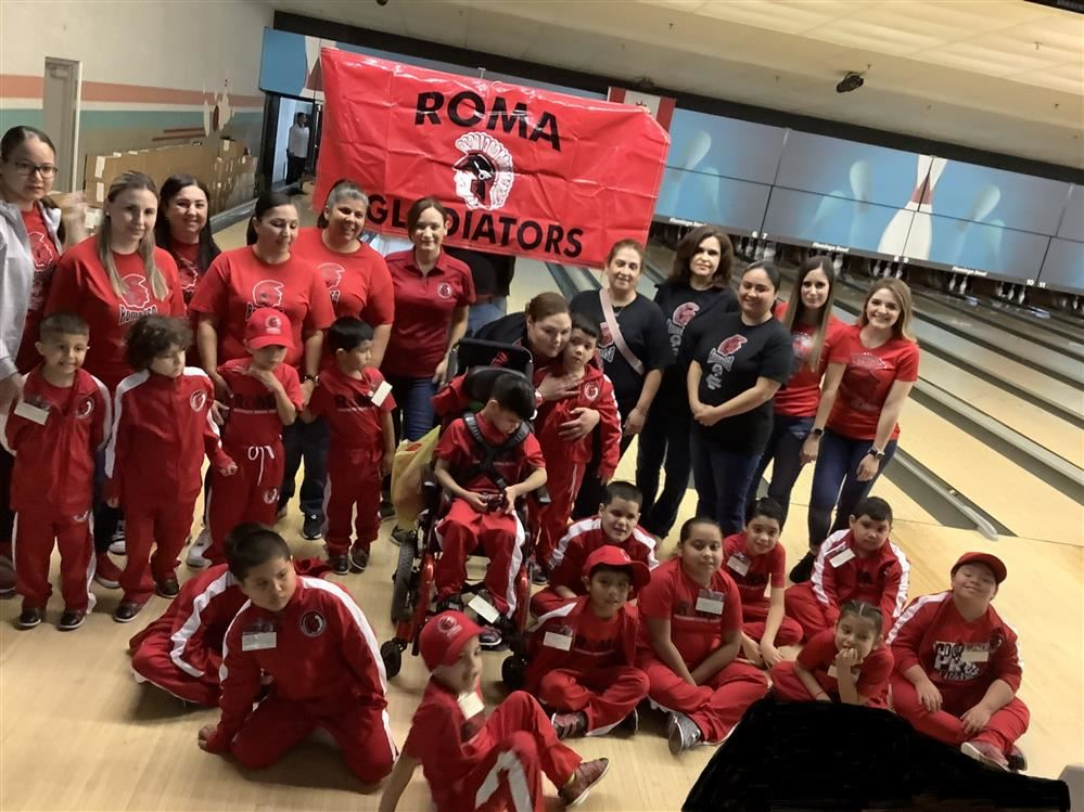 Roma ISD Special Olympians Score Places at Bowling Meet
