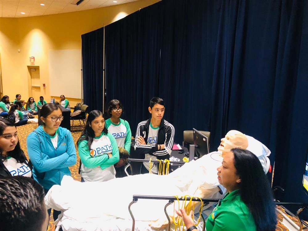 Roma ISD Students Attend PATHS Conference
